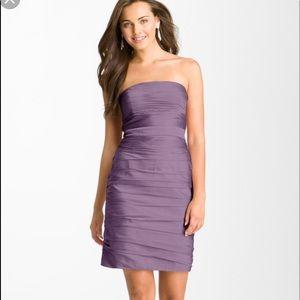 Monique Lhuiller  Ruched Bridesmaids dress